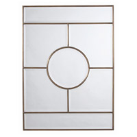Arteriors 2198 Bronsan 44 X 32 inch Antique Brass Wall Mirror