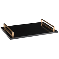 Exton Black Tray
