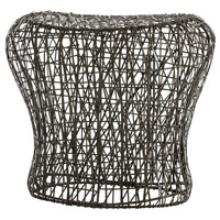 Arteriors 2433 Calder 20 inch Distressed Bronze Stool