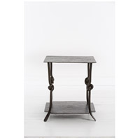 Arnot 24 X 24 inch Natural Iron Side Table Home Decor