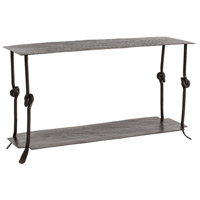 Arnot 58 X 19 inch Natural Iron Console Home Decor