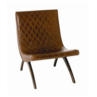 Arteriors 2596 Danforth Chestnut and Mahogany Accent Chair