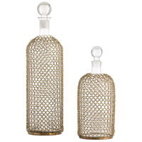 Arteriors 2614 Drexel 16 X 5 inch Decanter, Set of 2,Round