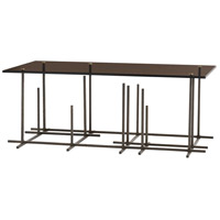 Hatch 42 inch Bronze Cocktail Table Home Decor