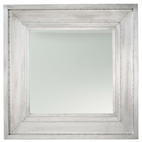 Brenda 43 X 43 inch Antiqued Aluminum Mirror Home Decor, Square