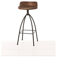 Hinkley 35 inch Sandblast Antique Wax and Natural Iron Bar Stool