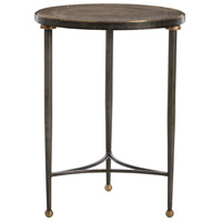 Tippin Antique Brass/Natural Iron/Antique Brass End Table Home Decor