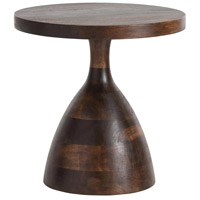 Darby 19 inch Dark Walnut Side Table