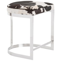 Arteriors 2856 Howell 24 inch Polished Nickel Counter Stool