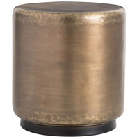 Hightower 20 inch Antique Brass Side Table