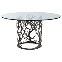 Ursula Natural Iron Dining Table Home Decor