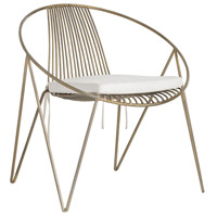 Arteriors 4027 Ginger Antique Brass Chair
