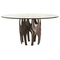Naomi 60 inch Antique Bronze Dining Table