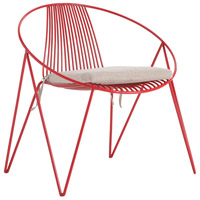 Arteriors 4072 Ginger Red Chair
