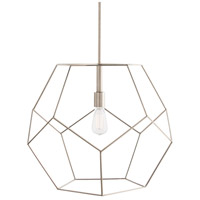 Arteriors 41004 Mara 1 Light 24 inch Polished Nickel Pendant Ceiling Light, Large