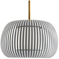Arteriors 41041 Willow 1 Light 20 inch Gray Pendant Ceiling Light