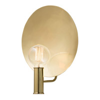 Lorita 1 Light 12 inch Polished Brass Wall Sconce Wall Light