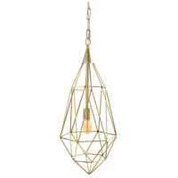 Arteriors 42061 Stella 1 Light 12 inch Polished Brass Pendant Ceiling Light