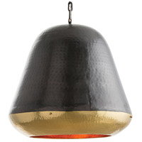Drake 3 Light 24 inch Antique Brass/Bronze/Copper Pendant Ceiling Light, Round