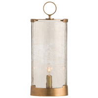 Danford 17 inch 25 watt Antique Brass Table Torchiere Portable Light, Oval