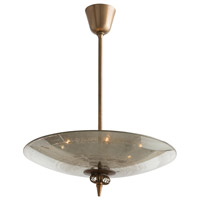 Isola 6 Light 22 inch Antique Brass Pendant Ceiling Light