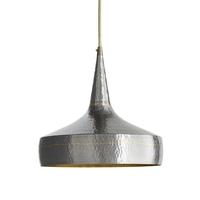 Arteriors 42414 Mason 1 Light 13 inch Dark Natural Iron and Brass Pendant Ceiling Light