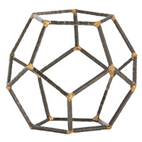 Arteriors 4312 Harmon 8 inch Sculpture, Small