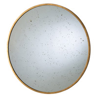 Arteriors 4361 Kira Gold Leaf and Speckled Antique Mirror Wall Mirror