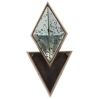 Ellory 1 Light 7 inch Antique Brass,Bronze Sconce Wall Light, Triangle