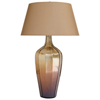 Arteriors 44376-561 Meera 36 inch 150 watt Dark Amber Luster Table Lamp Portable Light