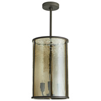Riggs 3 Light 10 inch Natural Iron Pendant Ceiling Light