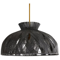 Arteriors 45045 Wester 1 Light 36 inch Dark Gray Chandelier Ceiling Light
