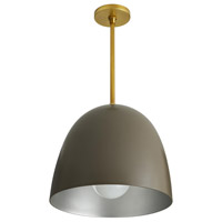 Ponce 1 Light 15 inch Taupe Pendant Ceiling Light
