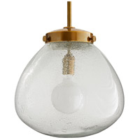 Arteriors 46413 Welch 1 Light 16 inch Clear Seedy Pendant Ceiling Light