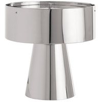 Byron 19 inch Polished Nickel Table Lamp Portable Light