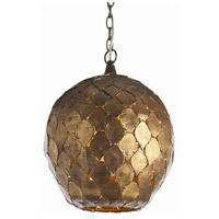 Arteriors 46576 Osgood 1 Light 14 inch Gold Leaf Pendant Ceiling Light