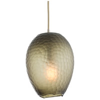 Dwight 1 Light 9 inch Etched Smoke Pendant Ceiling Light, Round