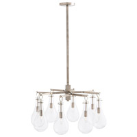 Sabine 8 Light 31 inch Polished Nickel Chandelier Ceiling Light