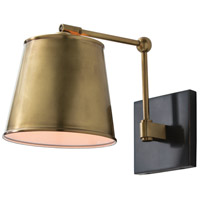 Watson 1 Light 9 inch Antique Brass and Oil Rubbed Bronze Sconce Wall Light