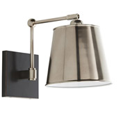 Arteriors 49026 Watson 1 Light 9 inch Vintage Silver and Bronze Sconce Wall Light