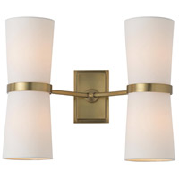 Arteriors 49040 Inwood 4 Light 18 inch Antique Brass Sconce Wall Light