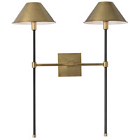 Arteriors 49054 Havana 2 Light 22 inch Antique Brass Sconce Wall Light
