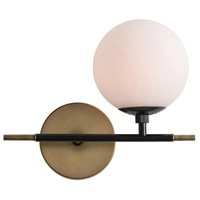 Arteriors 49062 Haynes 12 inch Antique Brass Sconce Wall Light, Right Facing