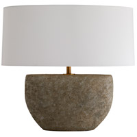 Arteriors 49096-652 Odessa 26 inch 150 watt Fossil Table Lamp Portable Light