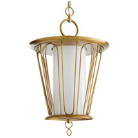 Arteriors 49097 Narnia 3 Light 16 inch Antique Brass Pendant Ceiling Light