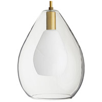 Arteriors 49098 Nala 1 Light 15 inch Clear Pendant Ceiling Light, Essential Lighting