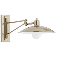 Arteriors 49172 Nox 1 Light Pale Brass Sconce Wall Light Essential Lighting