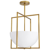 Arteriors 49177 Royce 2 Light 18 inch Antique Brass Pendant Ceiling Light