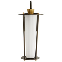 Antique Brass Glass Outdoor Wall Lights