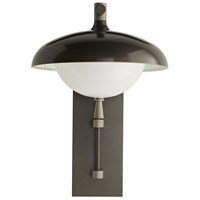 Arteriors 49199 Stanwick 1 Light 22 inch Aged Iron with Nickel Accents Outdoor Sconce